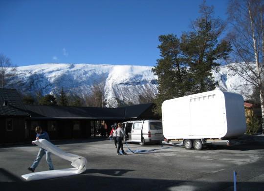 Pit stop i Skjåk