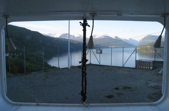 Utsikt fra Nordsida skole, Stryn kommune
